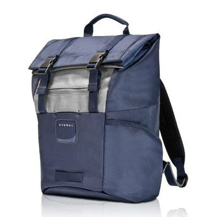 Everki Contempro Rolltop Backpack 15.6'' (Navy/Grey)