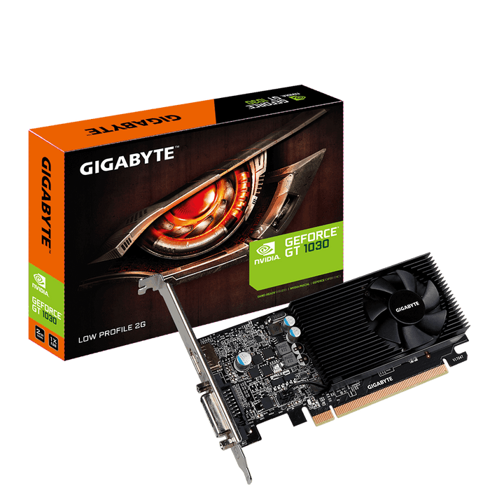 Gigabyte NVIDIA GT 1030 2048 MB GDDR5 PCI-Eexpress Graphics Card