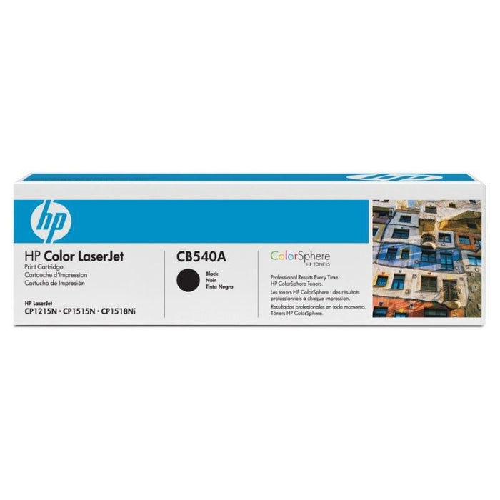 HP 125A Black Toner - 2200 Pages