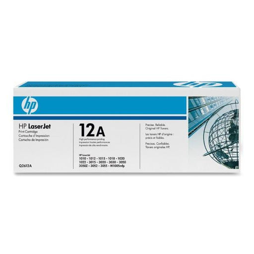 HP 12A Black Toner - 2000 Pages