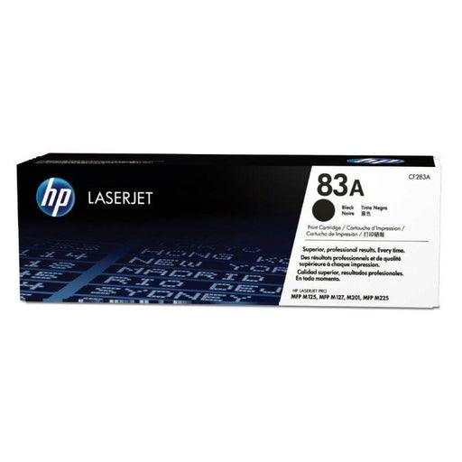 HP 83A Black Toner - 1500 Pages