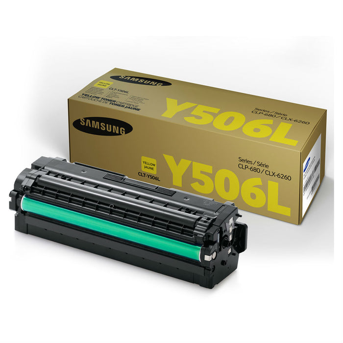 Samsung CLT-Y506L Yellow High Yield Toner