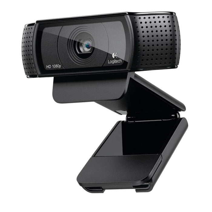 Logitech VC Webcam C920 HD Pro, USB, Full HD, 10MP, Carl Zeis Lens, 20 step autofocus, Microphone with noise reduction