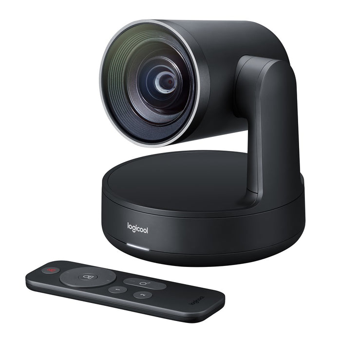 Logitech Vc Rally System Hd Conference Cam 1x Speaker; 1x Mic Pod; Table Hub; Display Hub; 2x Power Supplies; Remote Control