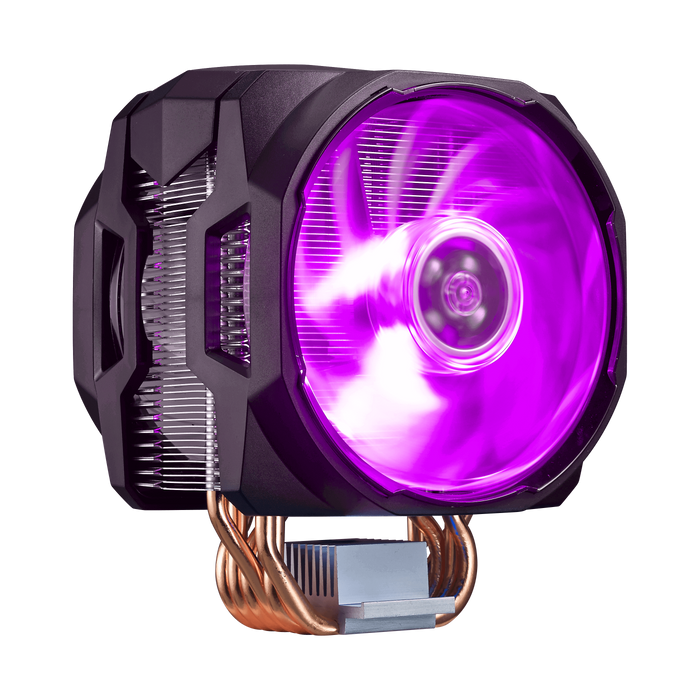 CM MASTERAIR MA610P TOWER BASED AIR BLOWER CPU COOLER; 120MM MASTERFAN PRO AIR BALANCE RGB LED FAN; INCLUDES RGB CONTROLLER