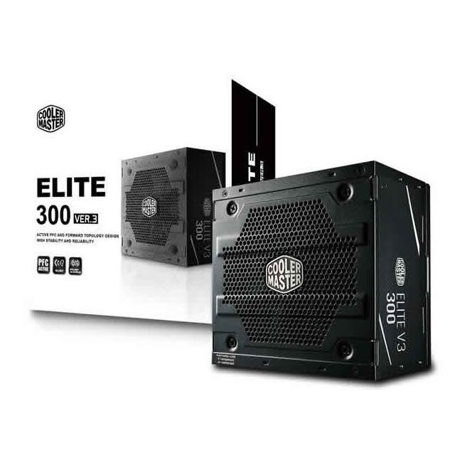 Cooler Master Elite 600W 230v V3 Active Power Factor Correction; Higher Temperature Resistance; >80% Average Efficiency