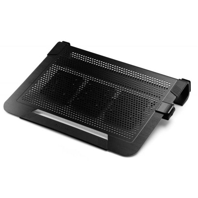 Cooler Master Notepal U3 Plus Silver Universal Notebook Cooling Stand; 3x80mm Fans; Up To 19''