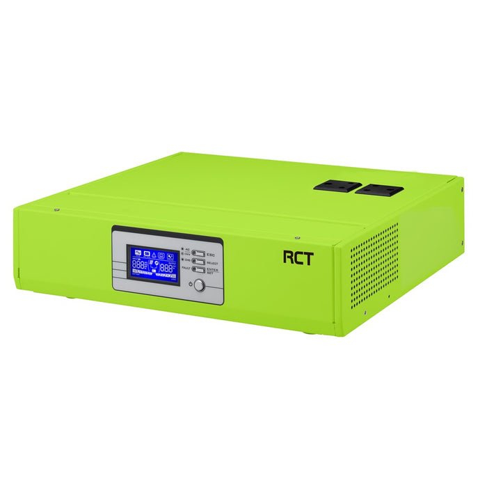 Rct Alfa 3000Va/2400W Desktop Inverter With 2x 3 Pin Sa Socket & Easy Installation