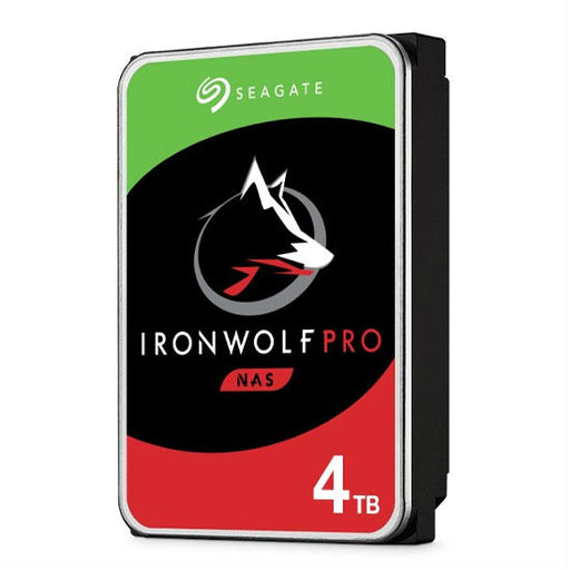 Seagate Ironwolf Pro 4TB 3.5'' HDD NAS, SATA 6GB/s Interface, 128MB Cache, RPM 7200