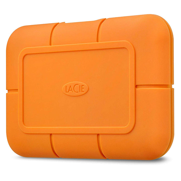 Seagate LaCie 2TB Rugged Mini USB-C; USB3.0; Drop; Crush and Rain Resistant