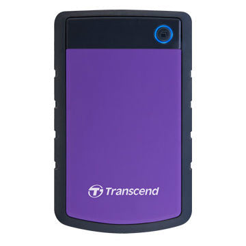 Transcend 1TB USB3.0 Rugged 2.5'' HDD - Purple