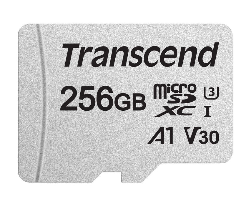 Transcend 256GB Micro SDXC C 10 UHS-I U1/U3 V30 A1 With SD Adapter