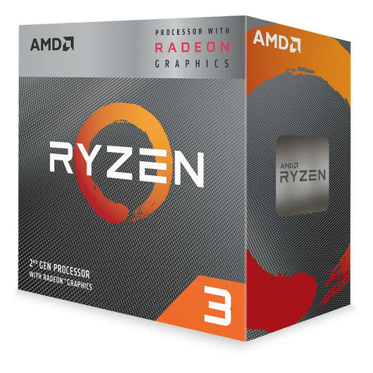 AMD Ryzen 3 3200G, With Wraith Stealth Cooler