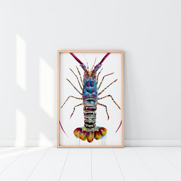 Tropical Crayfish (Limited Edition Print)