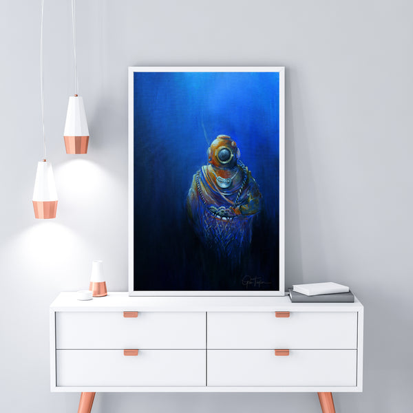 Into The Blue (1/25 Limited Edition Print)