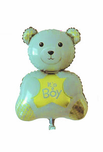 Balon Folie – Ursulet It's A Boy, Albastru, 70 Cm