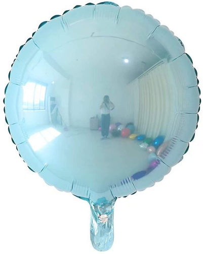 Balon folie blue rotund - 45 cm
