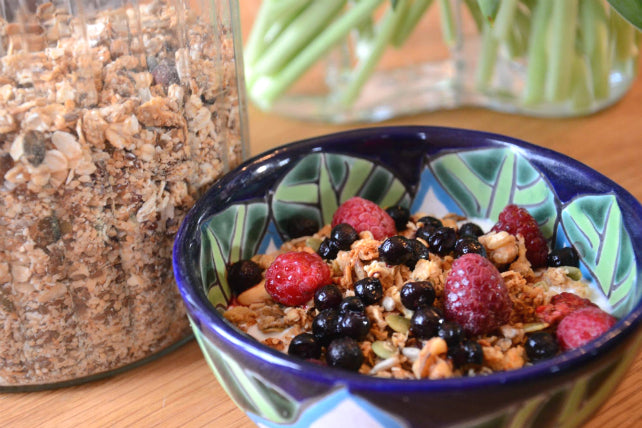 Edgy Veggie Morning Granola