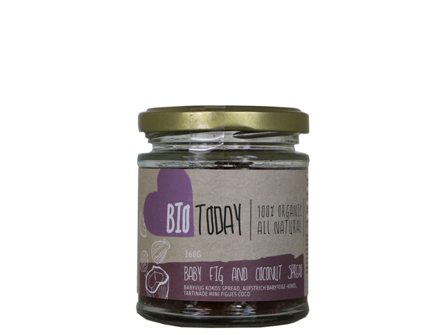 Spread Baby fig / Coco nut, økologisk (160 g)