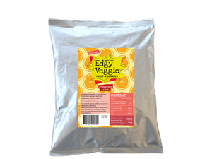 Edgy Veggie Freezedried Orange Bits (1-6 mm) (140 g)