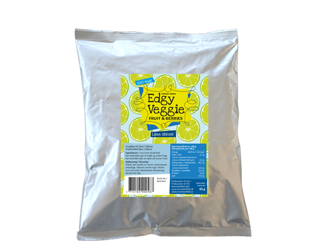 Edgy Veggie Freezedried Lime Slices (65 g)
