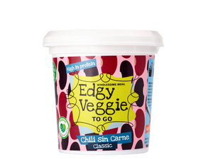 Edgy Veggie To Go - Chili sin Carne