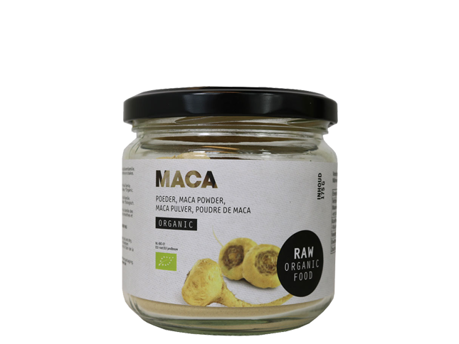 Raw Maca powder, økologisk (175 g)
