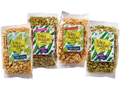 Edgy Veggie Snacks Collection (4 x 300 g)