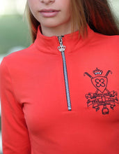 Giddy Up Girl Cassidy Zip Neck Top