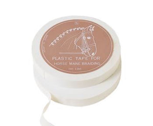 Plastic White Tape For Horse Mane Braiding