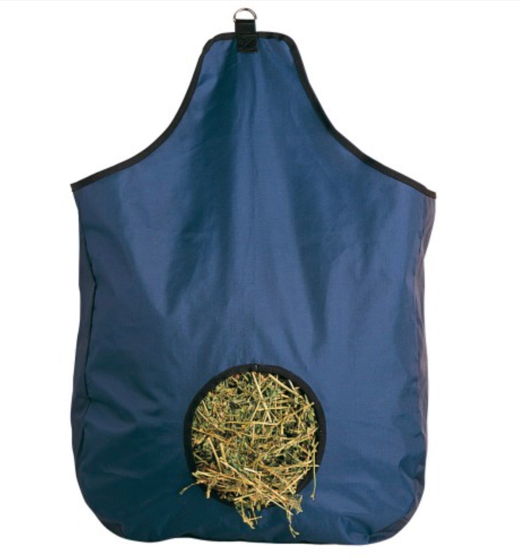 Hay Bag Feeder Black