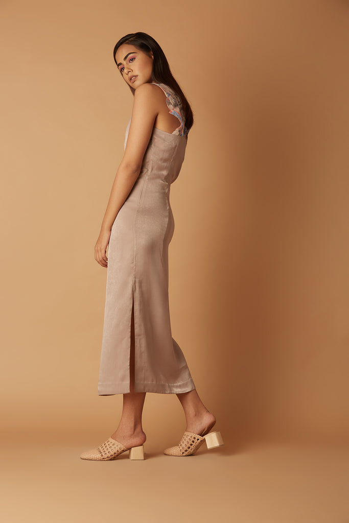 Inovili Slip Dress Back
