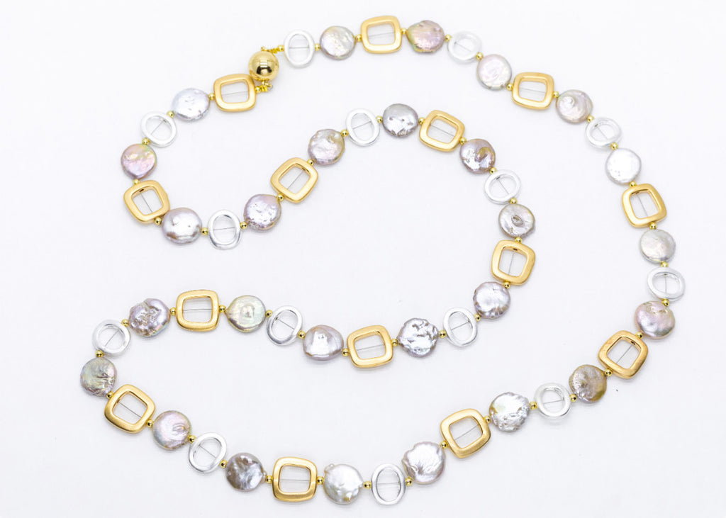 NINI CLASSIC LIGHT PINK-With Gold and Silver