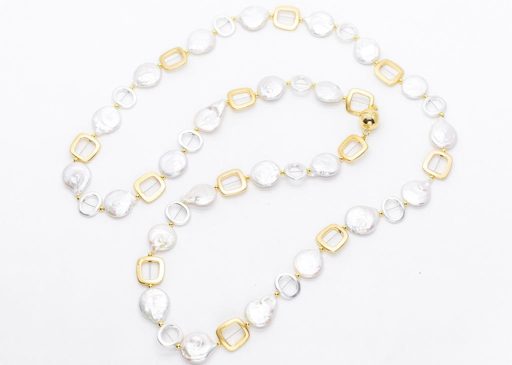 NINI CLASSIC WHITE-With Gold and SIlver