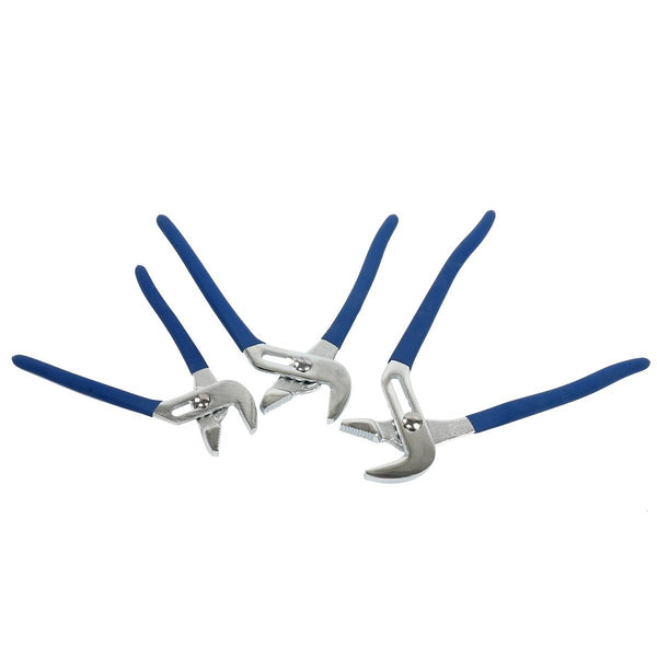 8milelake 3 pieces Tongue and Groove Pliers Set, 8-10-12 Inch