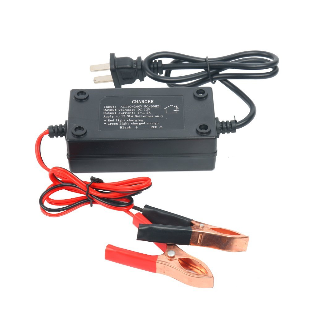 8milelake 12v 12a Sealed Lead Acid Sla Battery Trickle Charger Sealedleadacid Circuits Maintainer