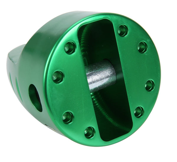 8milelake Shackle Mount With Titanium Pin & Rubber Guard (16,000 Lbs) Green