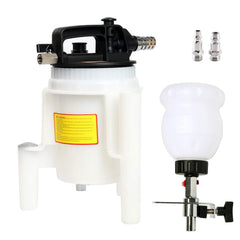 8MILELAKE Oil Change Extractor Fluid Evacuation Pump 2L Pneumatic Brake Oil and Brake Bleeder Kit 70-170psi