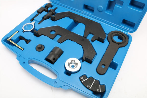 8milelake BMW N62/N62TU/N73 Engine Timing Tool Kit Engine Extractor /Installer Tool Kit