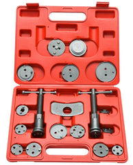 8milelake 18pcs Disc Brake Caliper Piston Pad Car Wind Back Tool Kit with Case