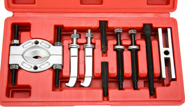 8milelake 9pc Mini Bearing Puller Separator Set 30-50mm Pull Out Jaw Gear Pulley Removal