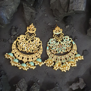 Exclusive Dangler Earrings with Gold Plating (BAER0458)