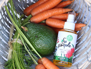 Avocado + Carrot  Luxe Body Oil - SoSimple Skincare