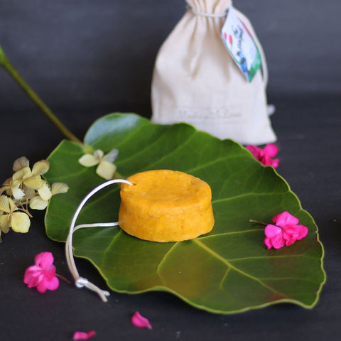 "Solid Shampoo Bar ""Orange + Bay Laurel"" - SoSimple Skincare"