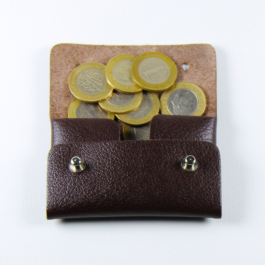 Kolt Leather Coin and Key Purse
