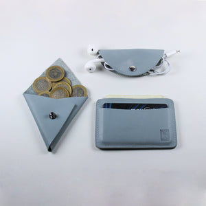 3 in 1: Wallet, Headphone Organizer, Coin Pouch