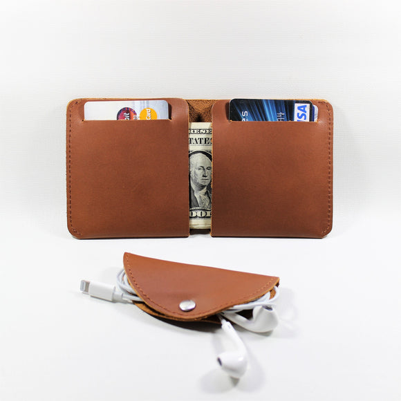 2 in 1: Thino Wallet and Tako Headphone Organizer