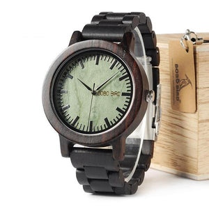 Intuitive Wooden Watches
