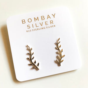 Bombay Silver Twig Ear Lines