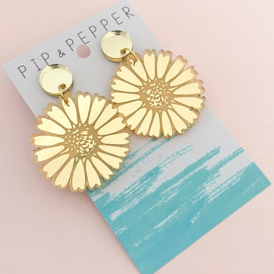 Daisy Dangles (Gold)